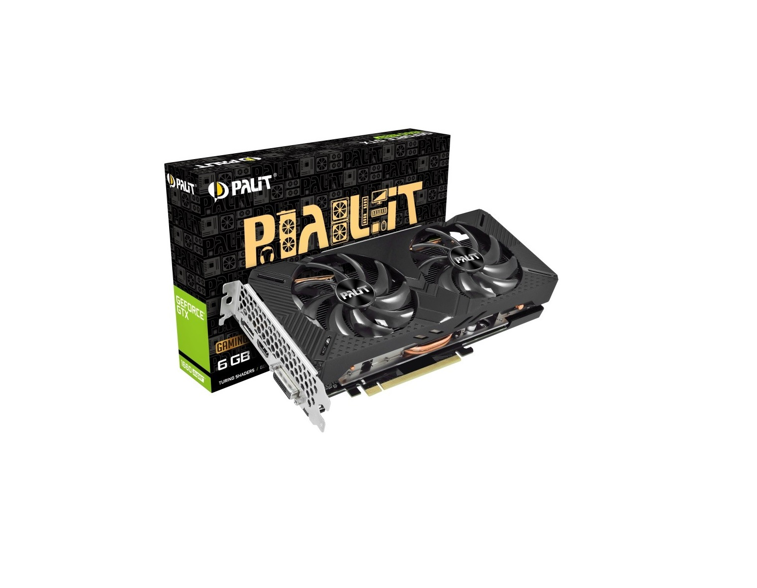 Palit Grafika GeForce GTX 1660 SUPER GamingPro OC 6G